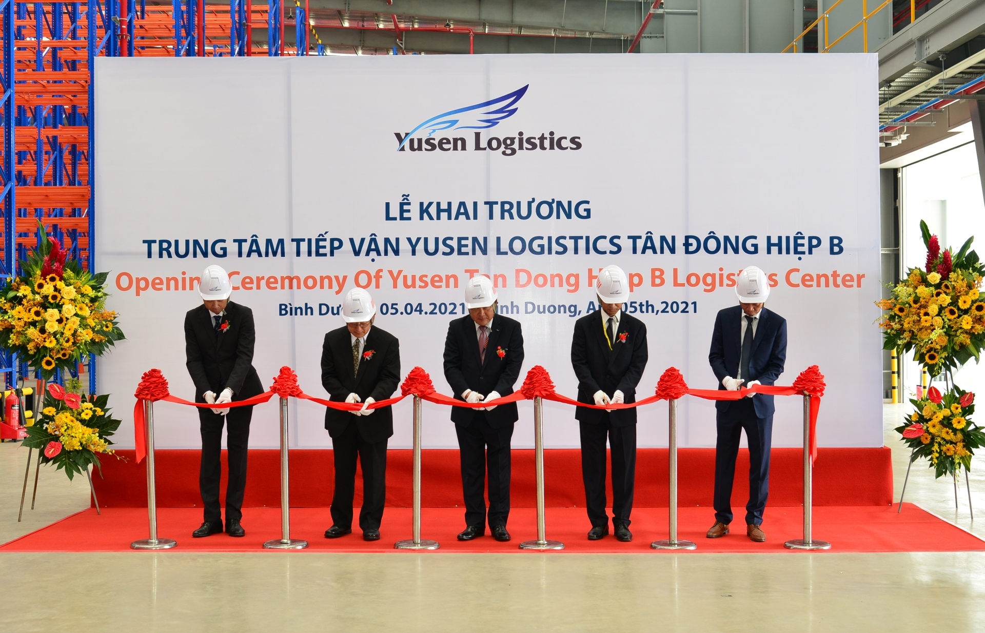 yusen logistics opens new logistics centre in binh duong