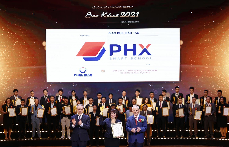 smart education management app phx smart school wins sao khue award 2021