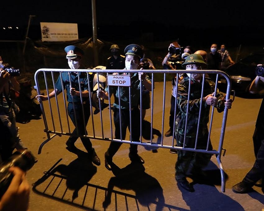 people of ha loi set free after covid 19 lockdown