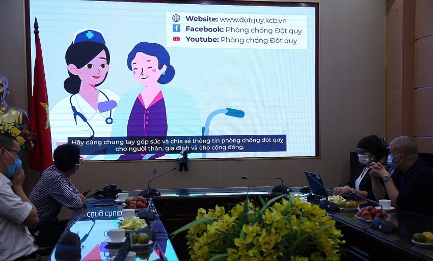 launch of digital multi platform portal to raise awareness of stroke prevention
