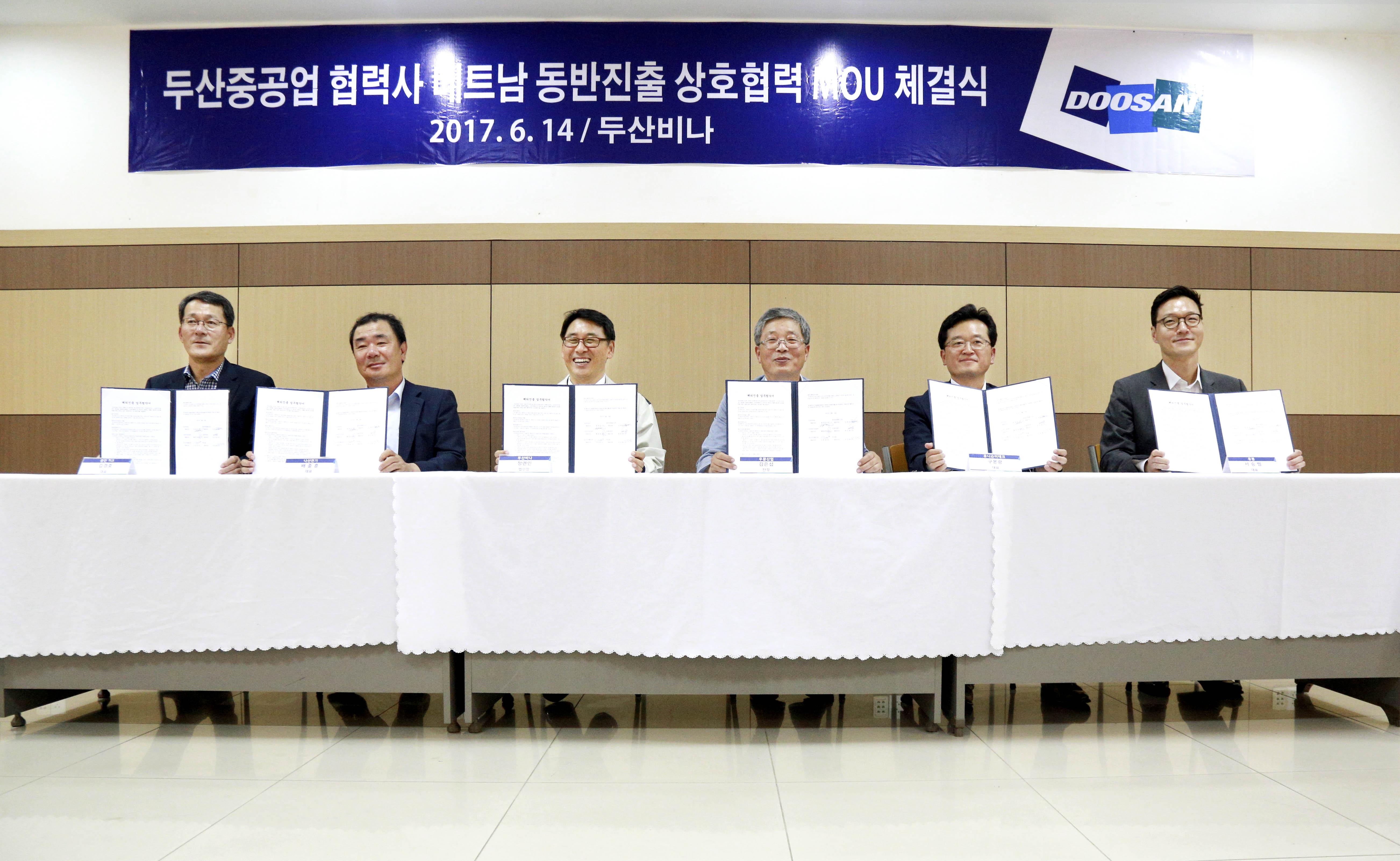 Doosan Heavy to mentor partners to start in Vietnam