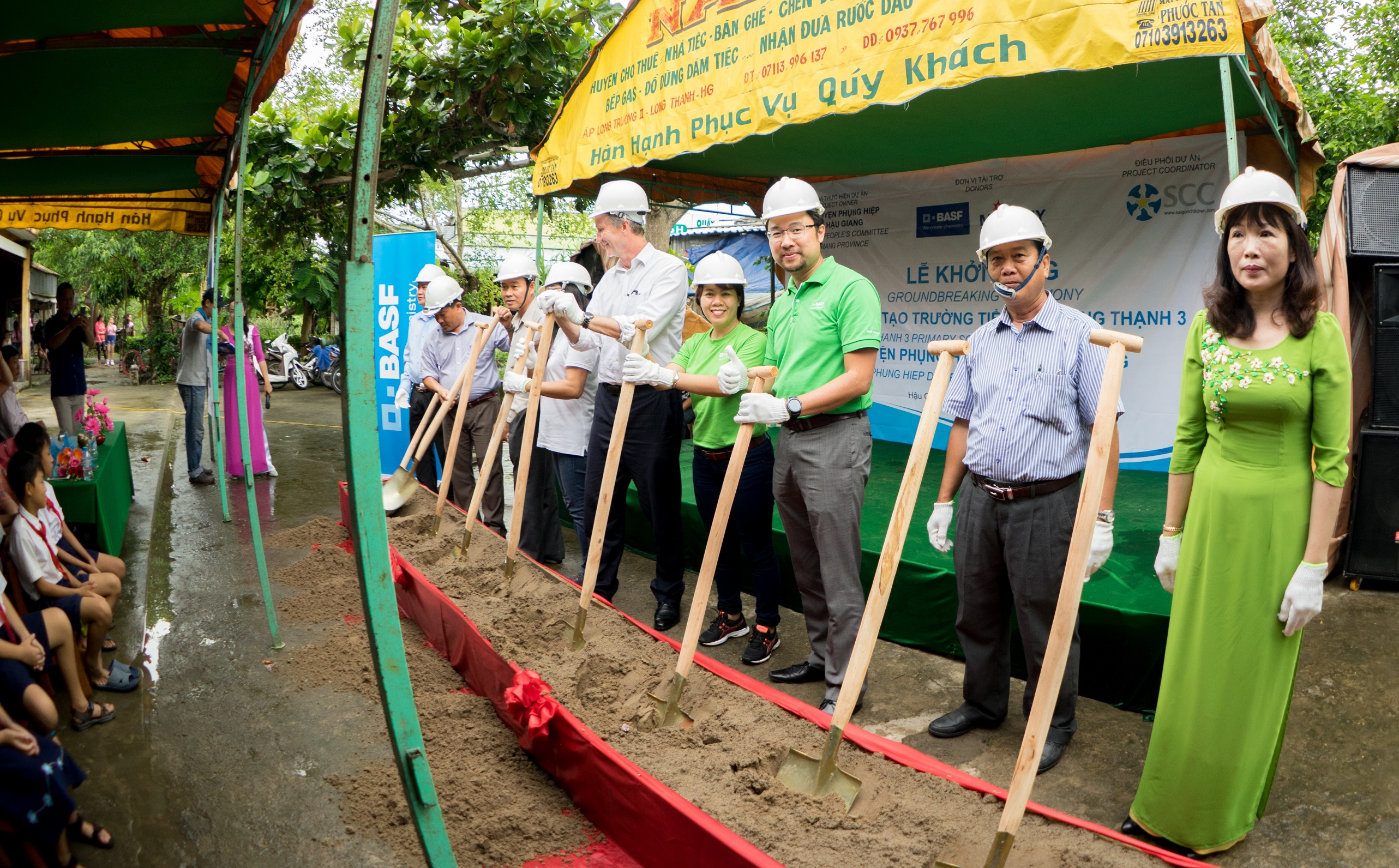 BASF helps improve learning environment in Hau Giang ...