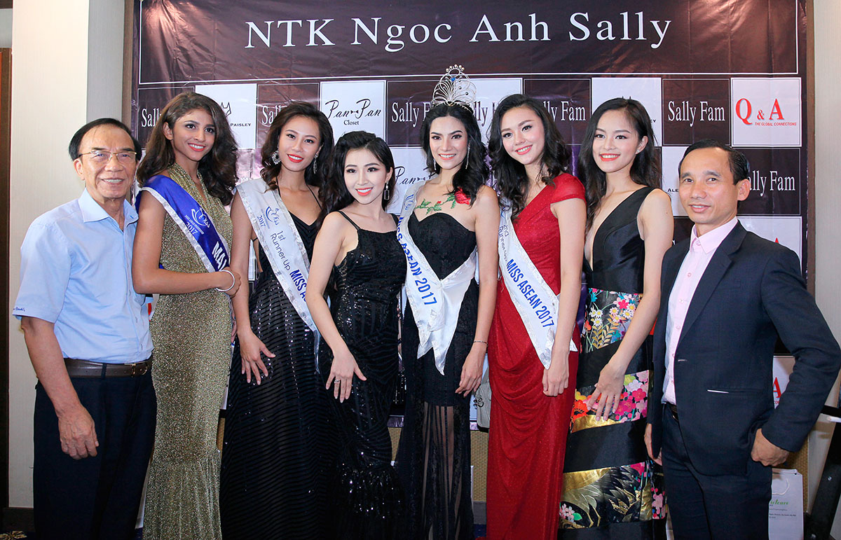 Five beauties from Miss ASEAN Friendship 2017 ready for online exchange