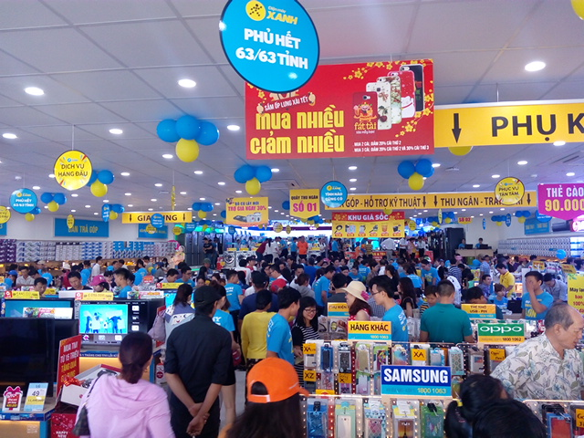 Mobile World struggles with growth in saturated consumer electronics market