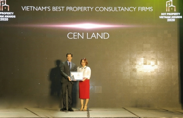 cen land big winner at dot property vietnam awards 2020