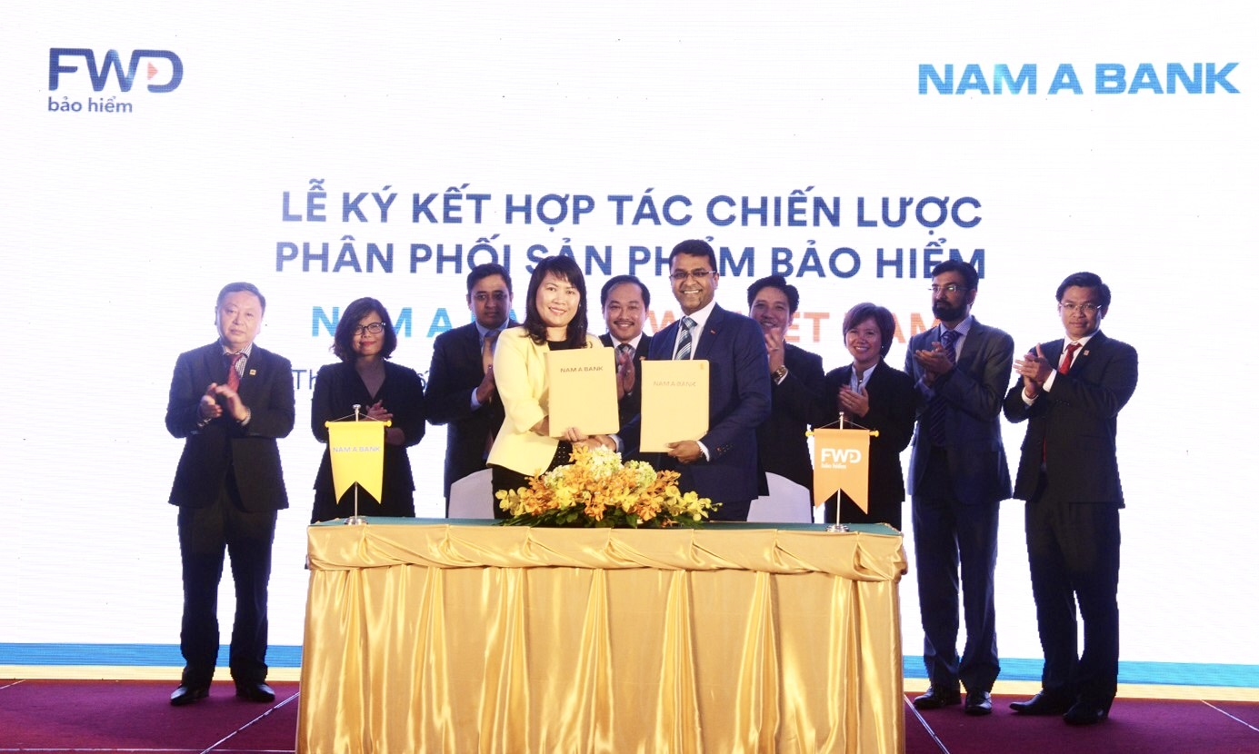 fwd signs exclusive 15 year bancassurance partnership with nam a bank