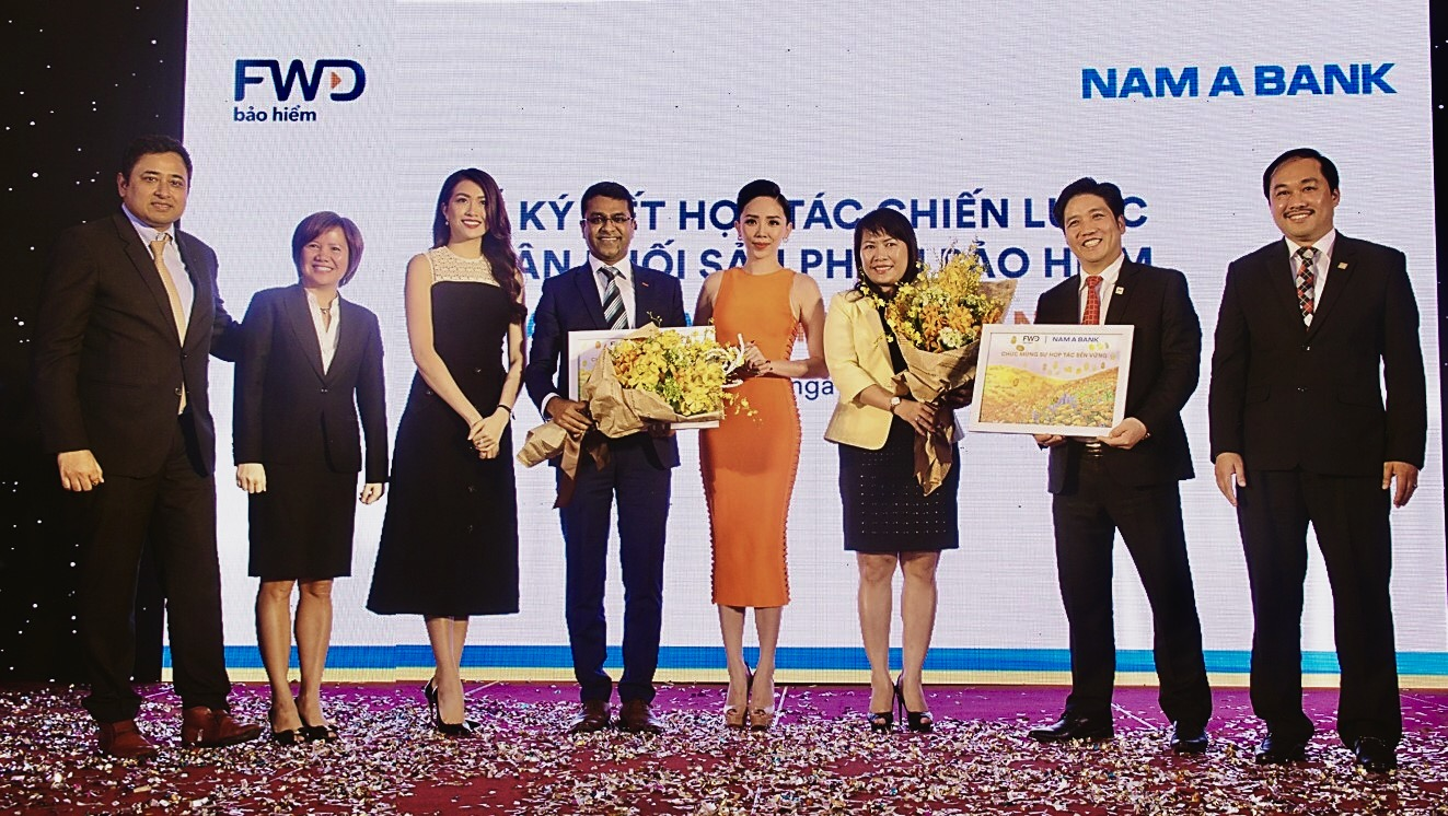 FWD signs exclusive 15-year bancassurance partnership with Nam A Bank