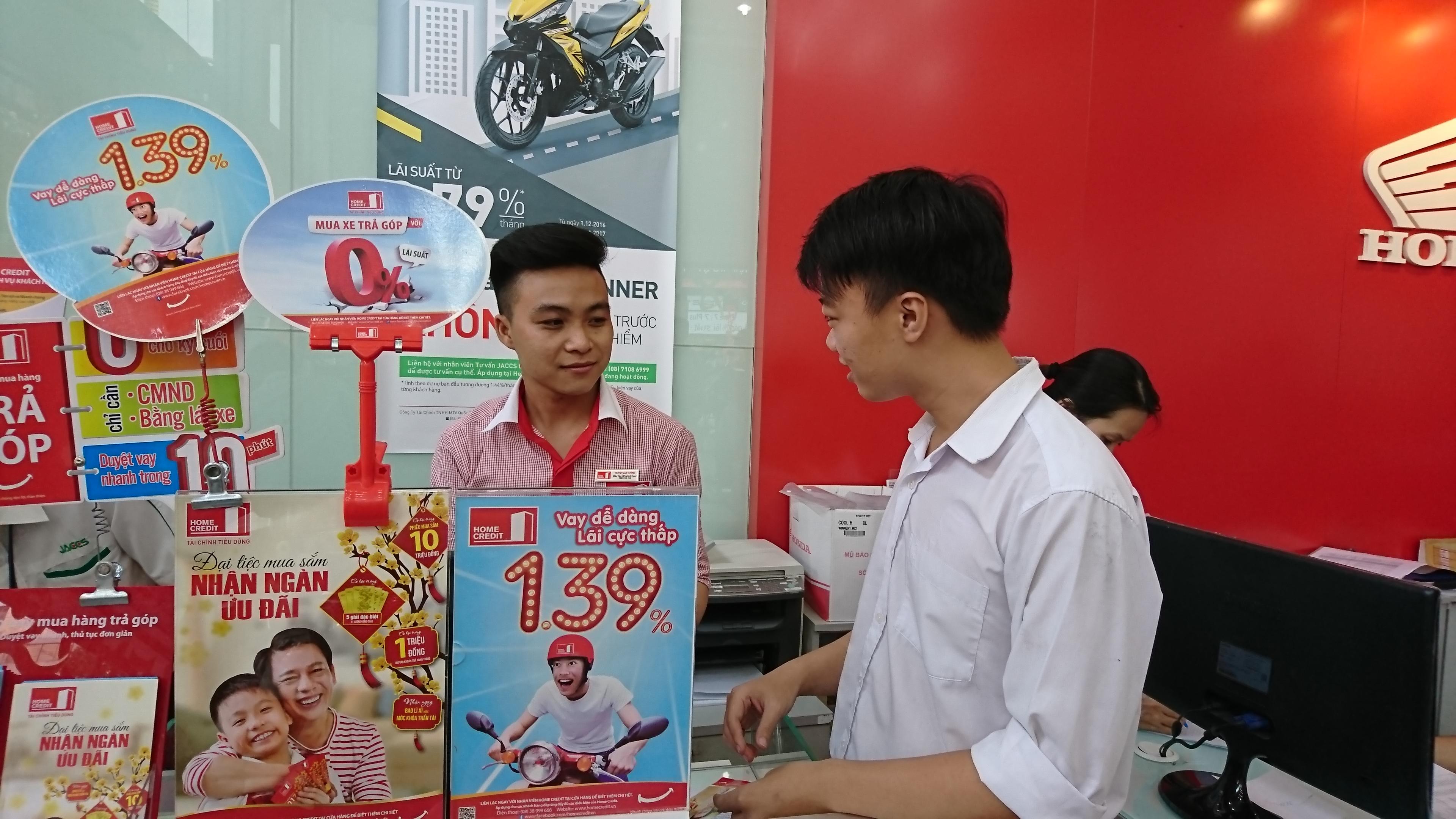 home credit vietnam records bumper crop