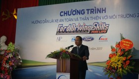 Ford's continuing efforts to make Vietnam's roads safer