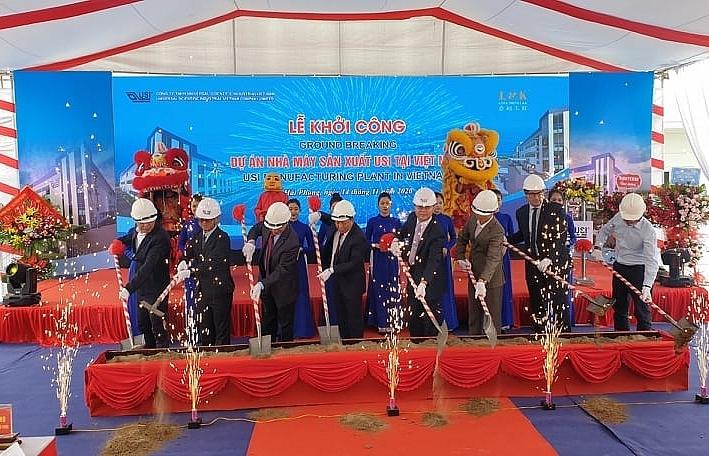 usi kicks off construction of 200 million plant in deep c industrial zones