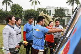 Doosan's Olympic silver medallist archers to train Vietnamese national team