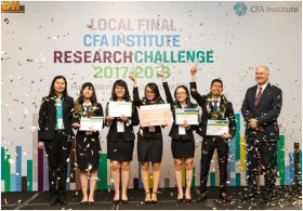 ftu wins country finals of cfa institute research challenge vietnam 2017 2018