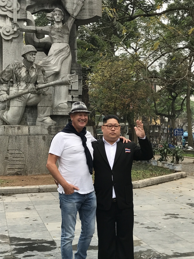 locals and tourists elated about dprk us hanoi summit