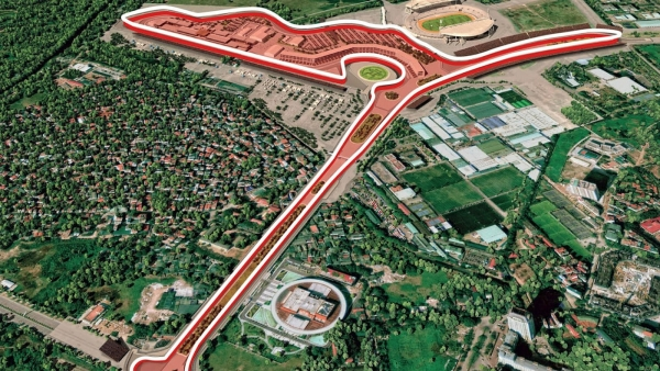 hanoi begins construction of f1 racetrack