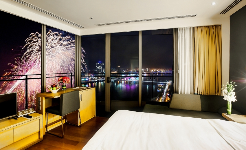 novotel danang the best place in town to enjoy fireworks festival