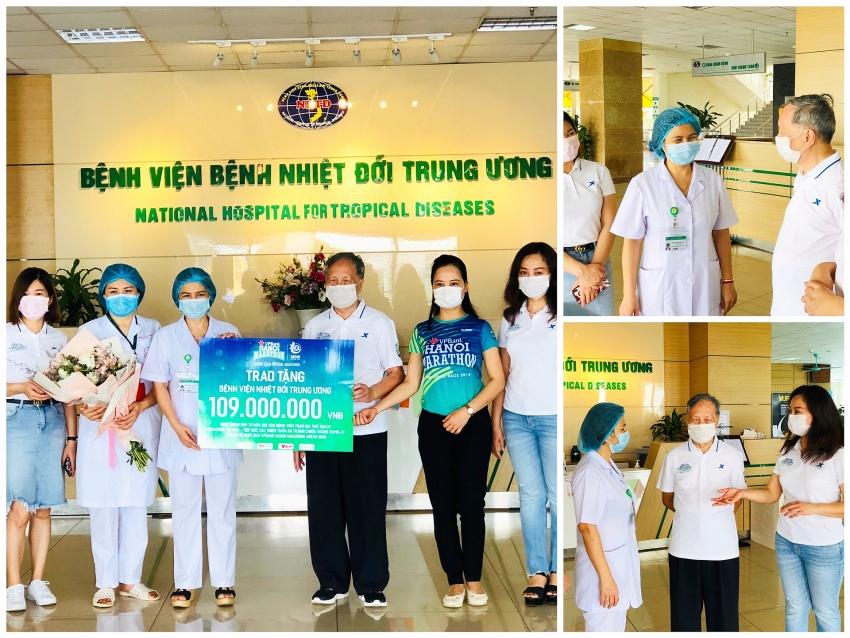 vpbank hanoi marathon asean 2020 donates collections to covid 19 fight