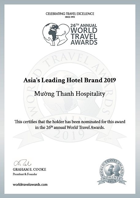 muong thanh nominated as asias leading hotel brand 2019