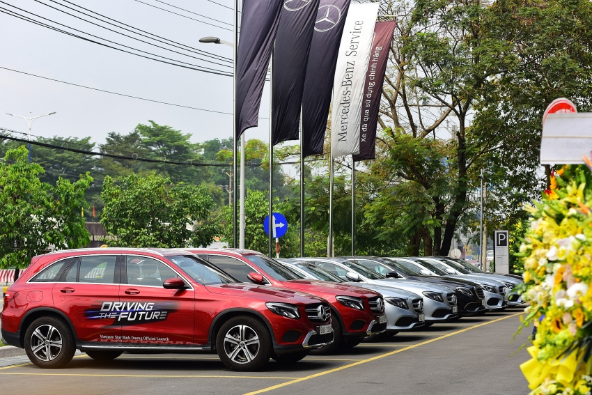 the first mercedes benz mar2020 showroom inaugurated in vietnam