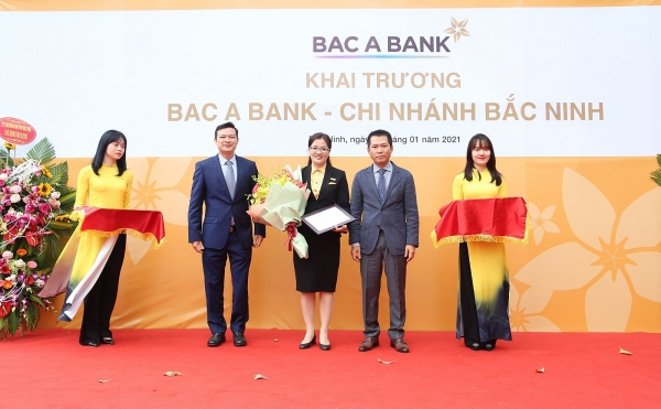 bac a bank joins financial market in bac ninh