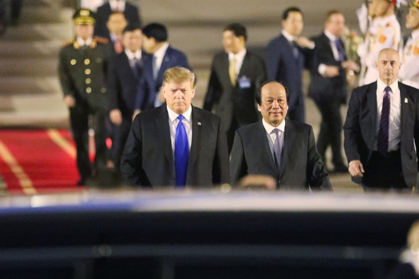 us president donald trump has come to vietnam