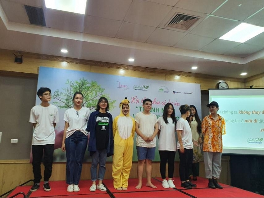 youth for environment project backed by bac a bank launched