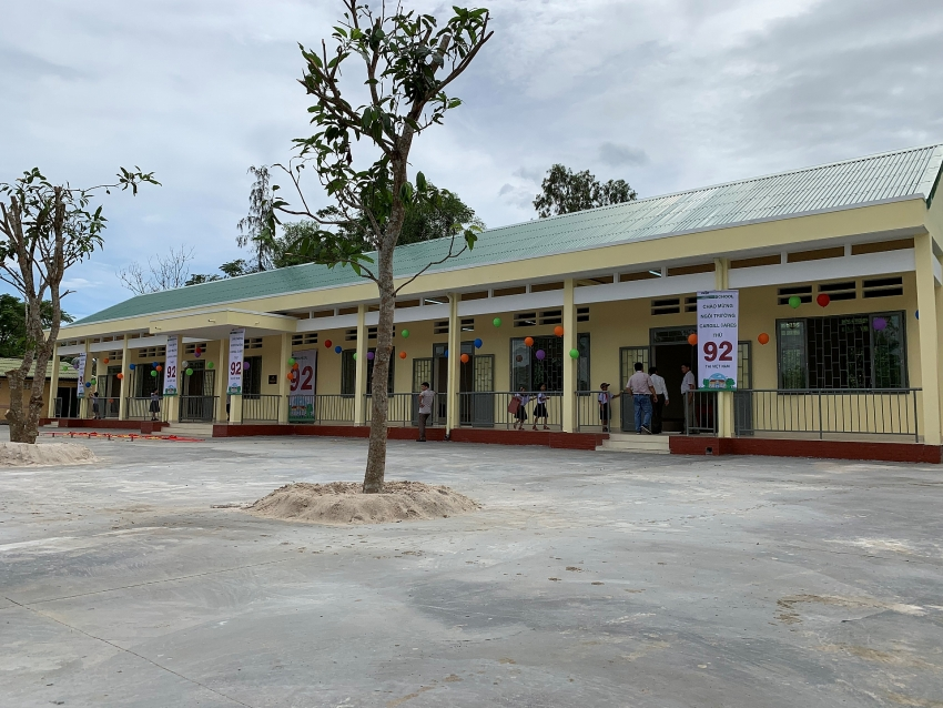 cargill opens two more new cares school s in vietnam