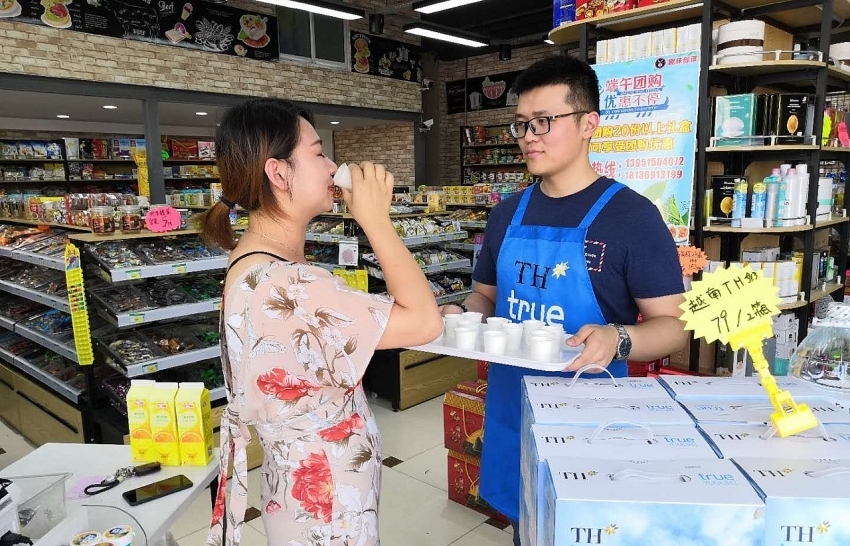 th group boosts milk exports to china