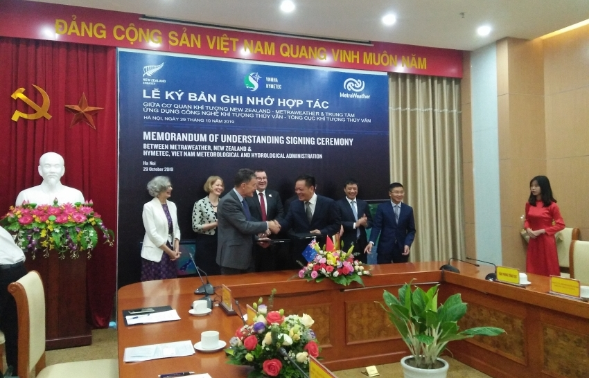vietnam and new zealand further weather intelligence co operation