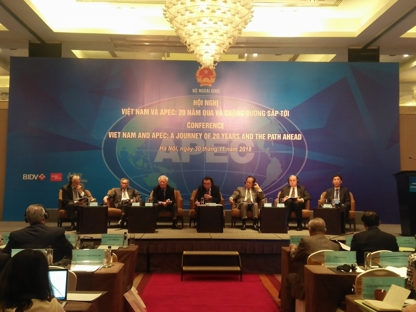 vietnam suggests solutions to foster apec over next 20 years