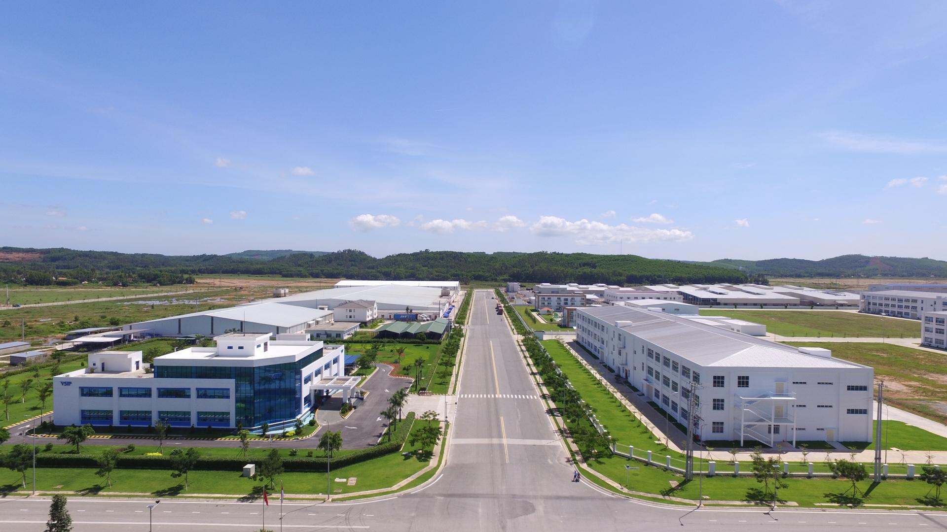 foreign investors pours 321 million into vsip quang ngai