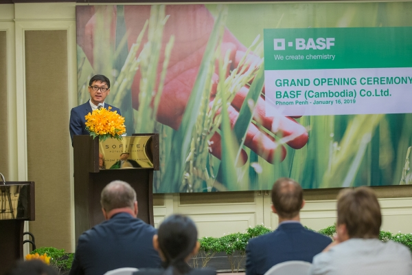 basf expands market coverage with a new company in cambodia