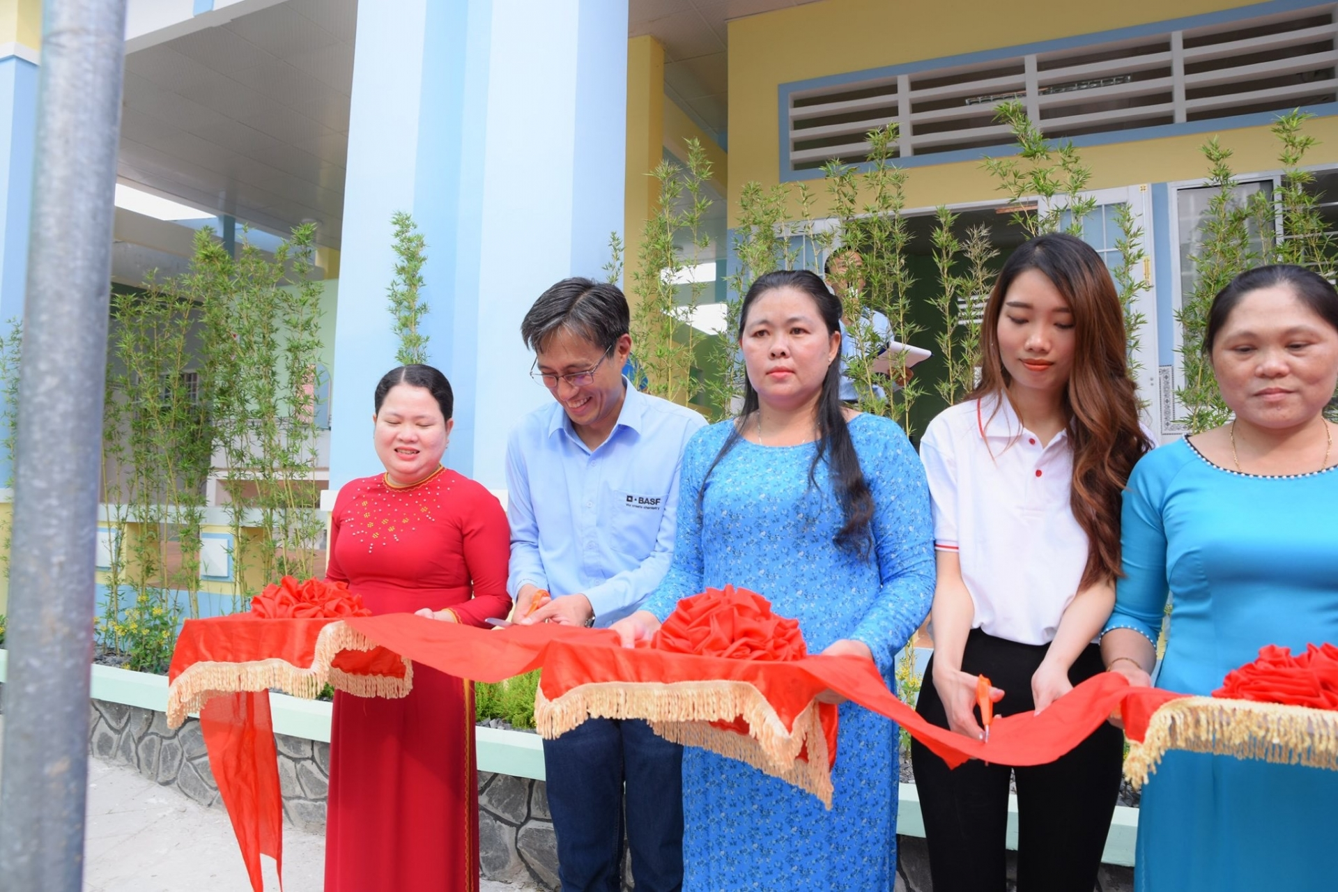 basf and partners launch fifth school in remote areas of vietnam