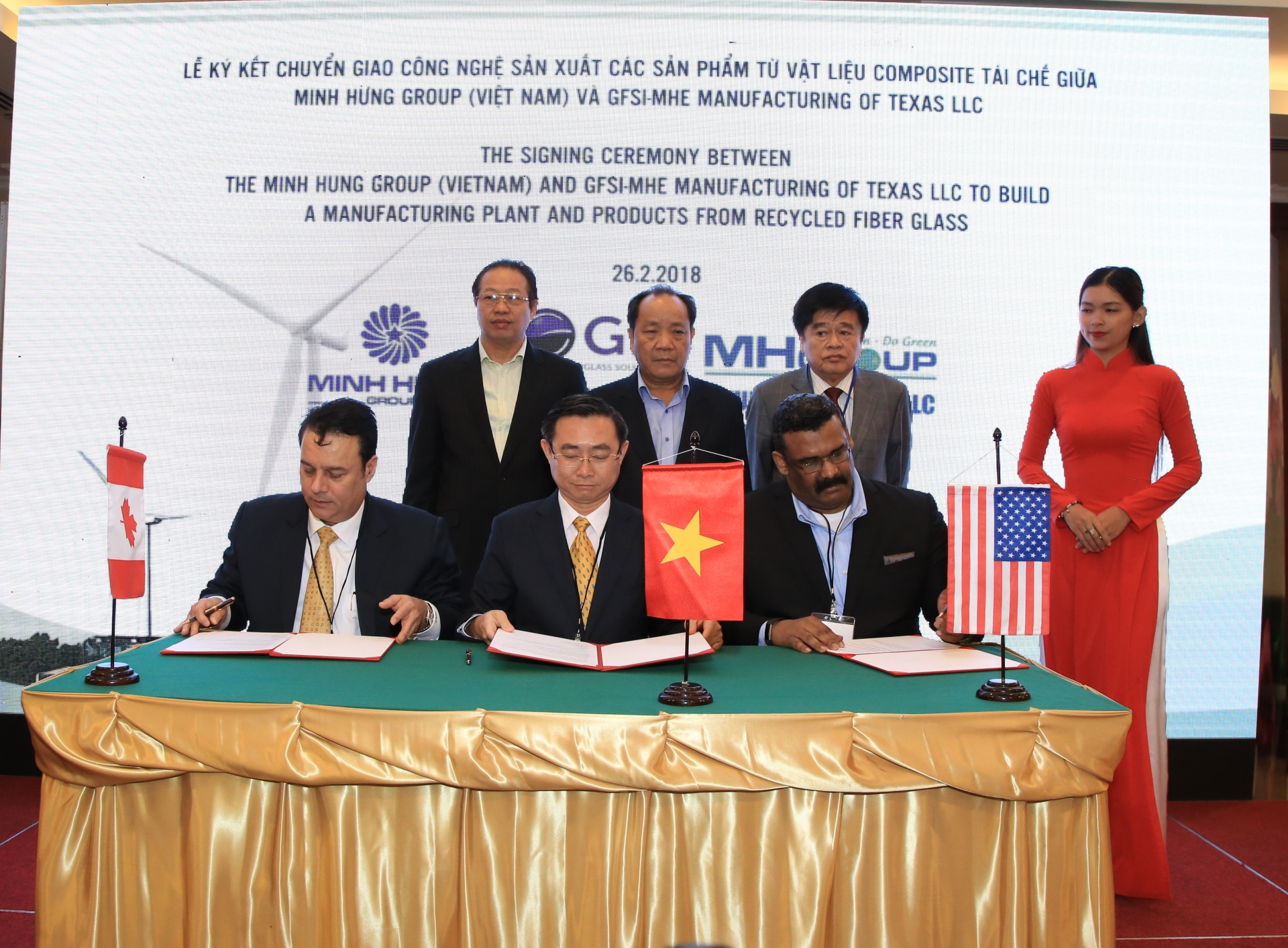 us vietnamese tie up to develop 50 million recycling facility