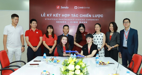 cimb bank joins hands with sendo to promote fast digital loan solution