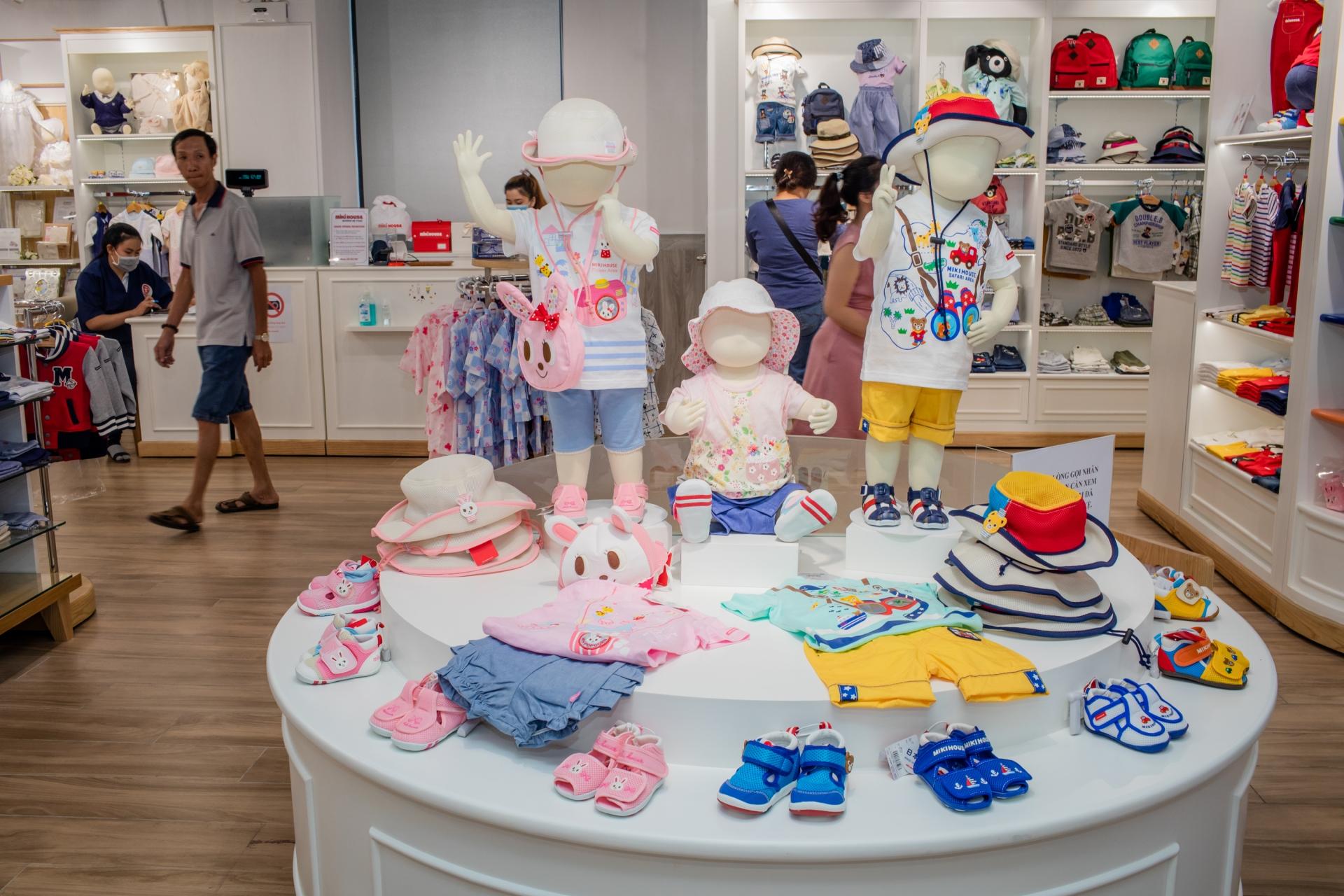 japanese kidswear brand opens first store in vietnam