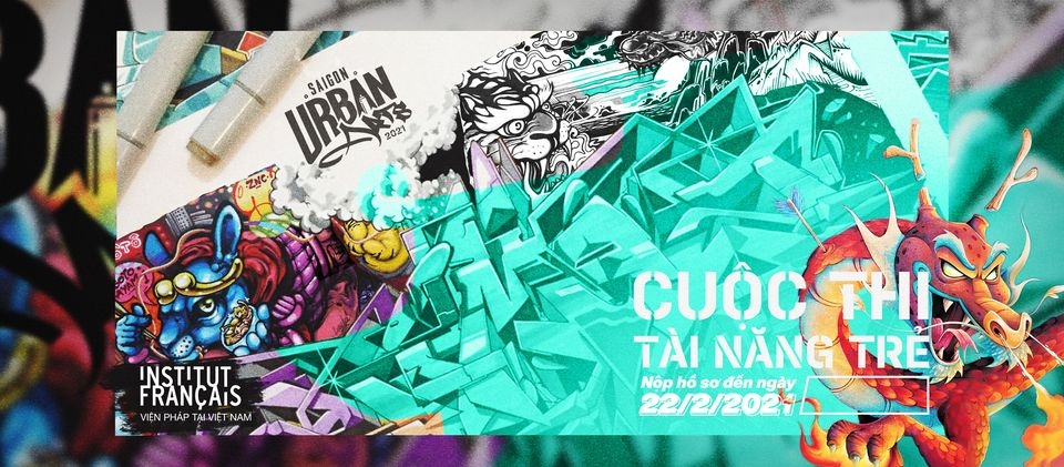 first international street art to take place in ho chi minh city