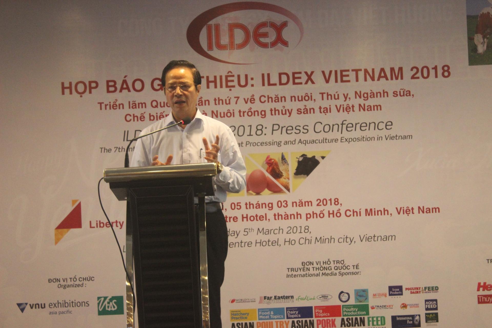 over 280 companies will join ildex vietnam 2018