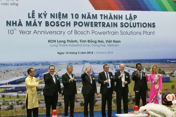 Bosch continues to expand Bosch Powertrain Solutions plant in Dong Nai