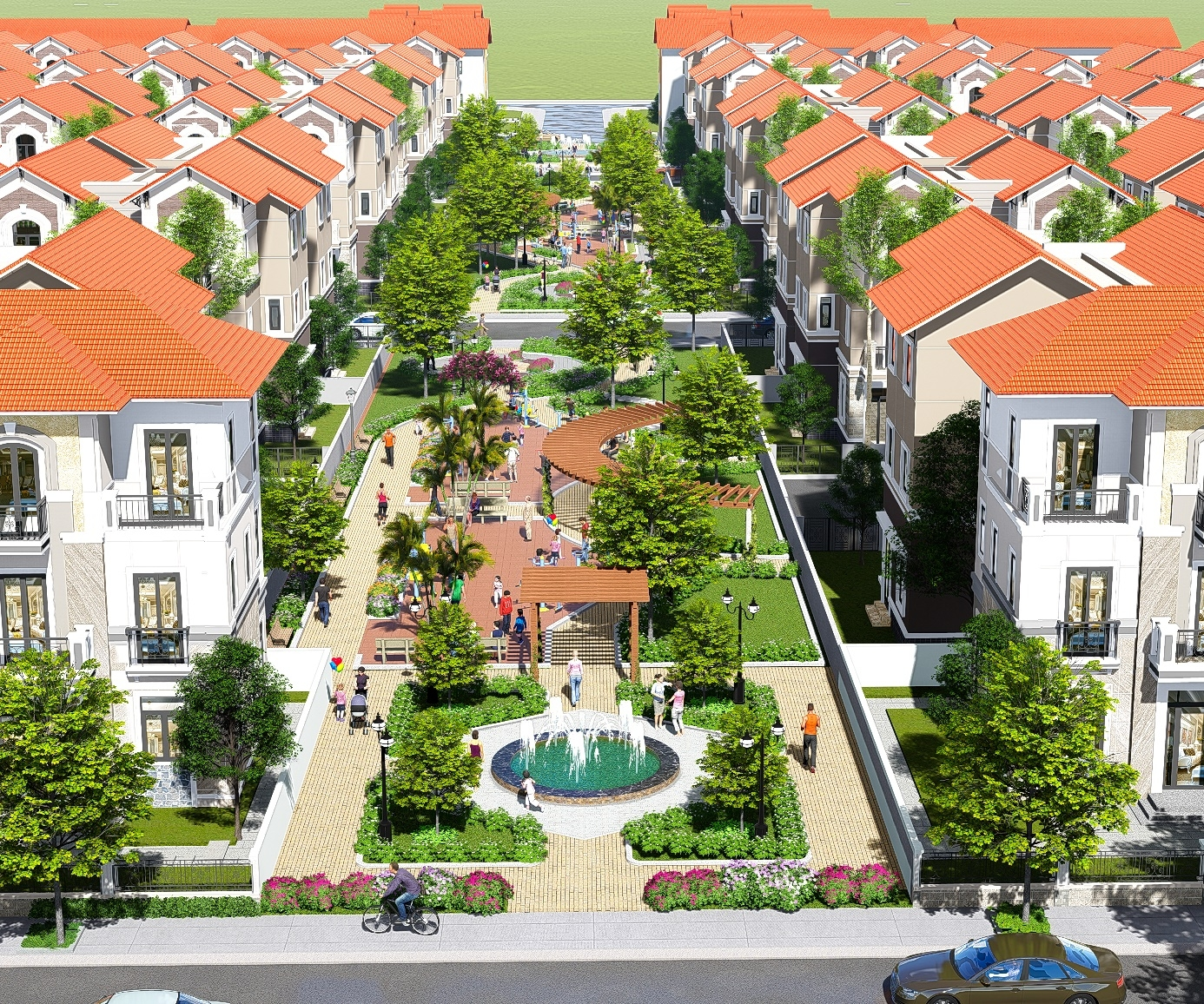 vsip bac ninh a green mega urban area in the heart of the city