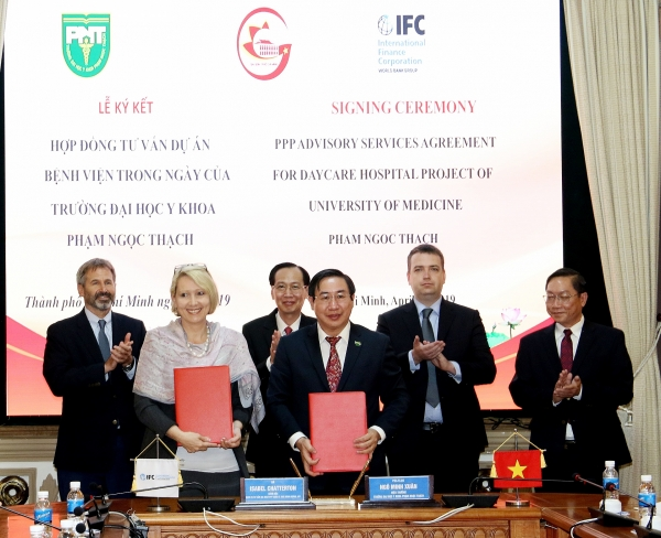 ifc to assist ho chi minh city to develop ppp healthcare facility