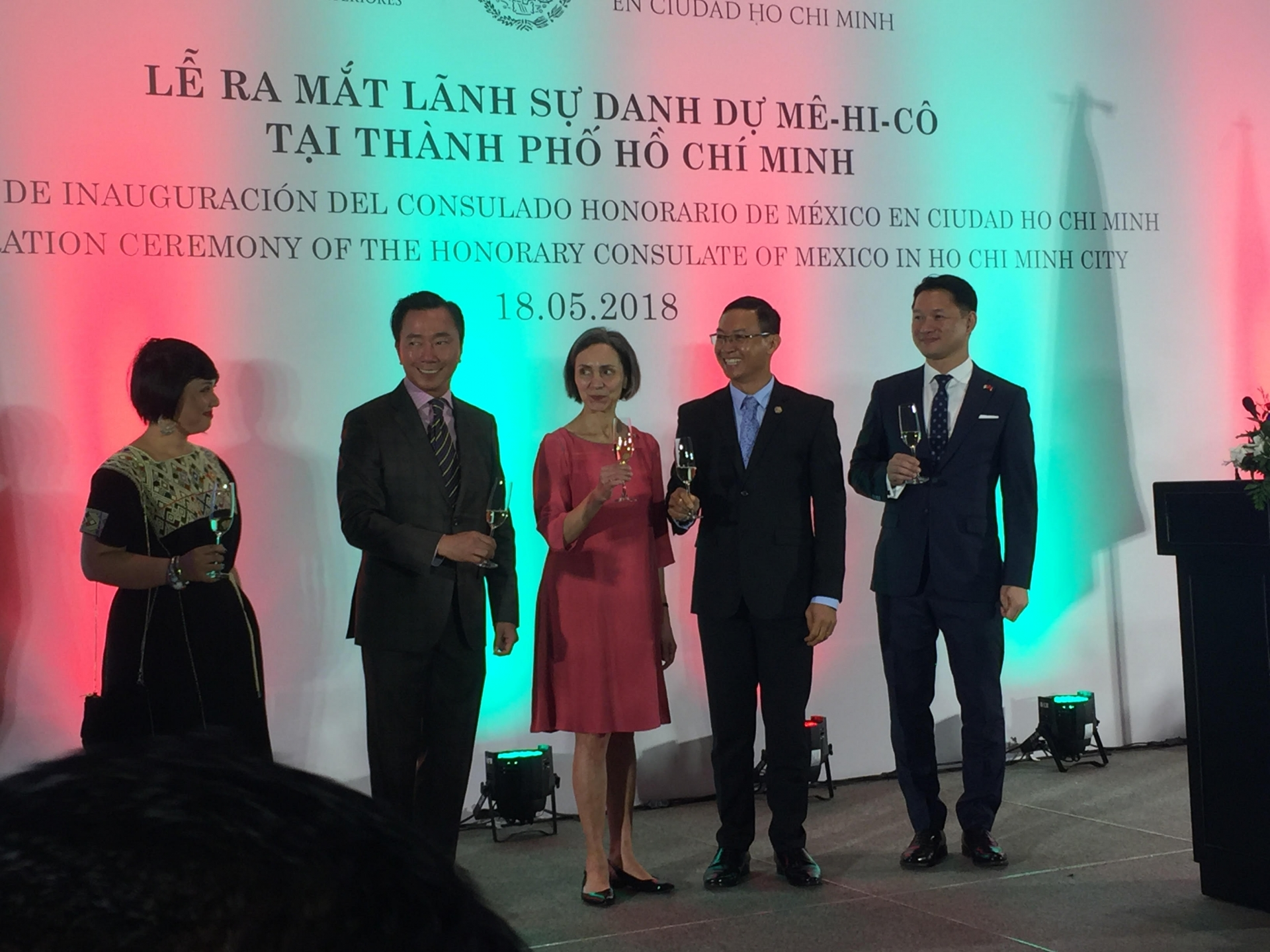 honorary consulate of mexico officially launched in ho chi minh city