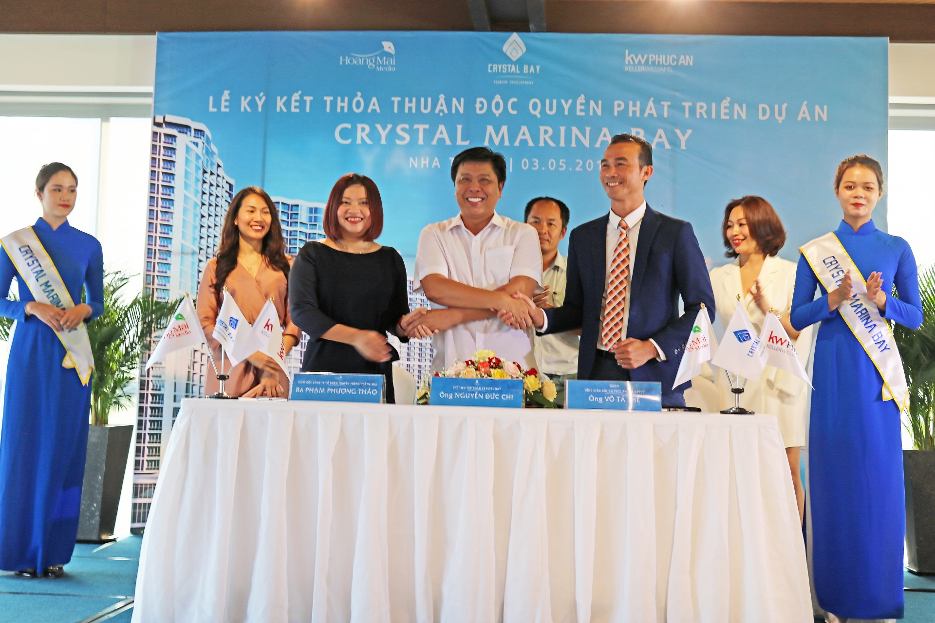 crystal bay ties up with kw phuc an and hoang mai media