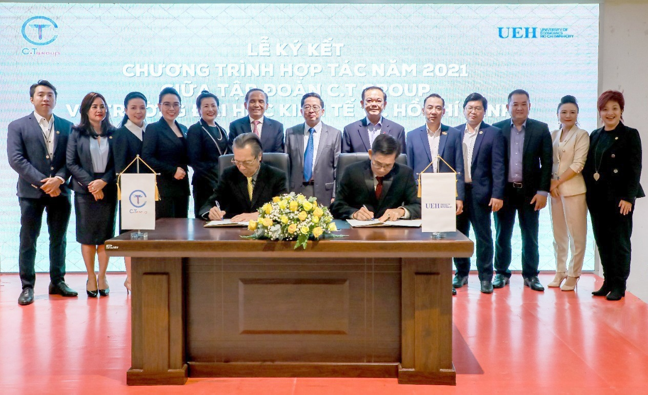 ct group inks deal with university of economics ho chi minh city