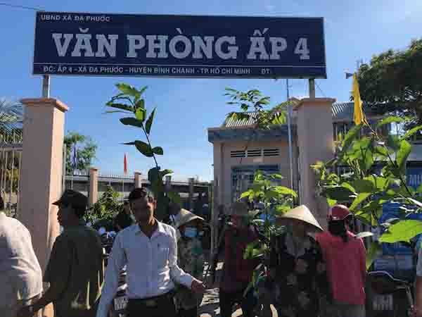 vws sows seeds of sustainability in da phuoc commune