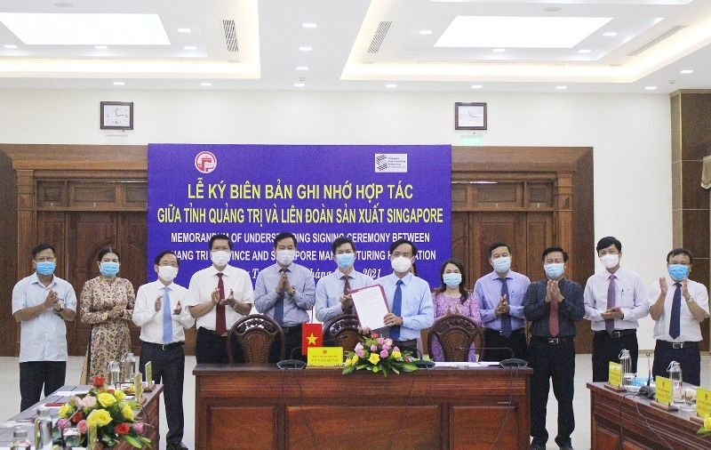 quang tri cooperates with smf to research and develop the provincial planning