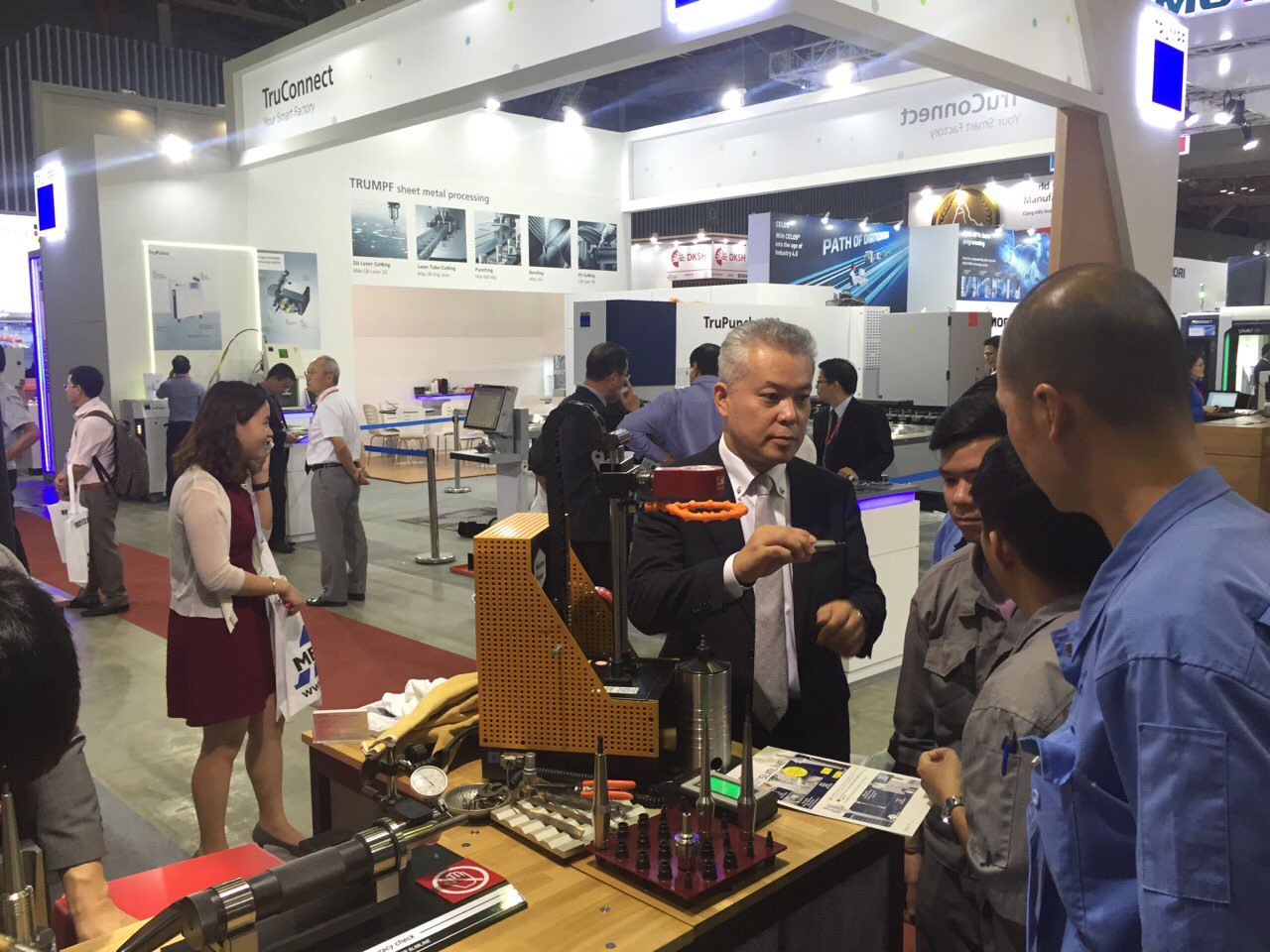 MTA Vietnam 2017 boosts Vietnam's manufacturing and industrial production capabilities