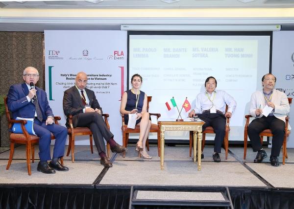 italian companies eye vietnamese furniture and interior design market