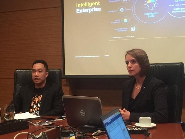 sap calls businesses to embrace intelligent technologies