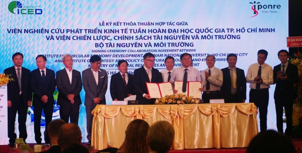 first institute of circular economy development established in vietnam