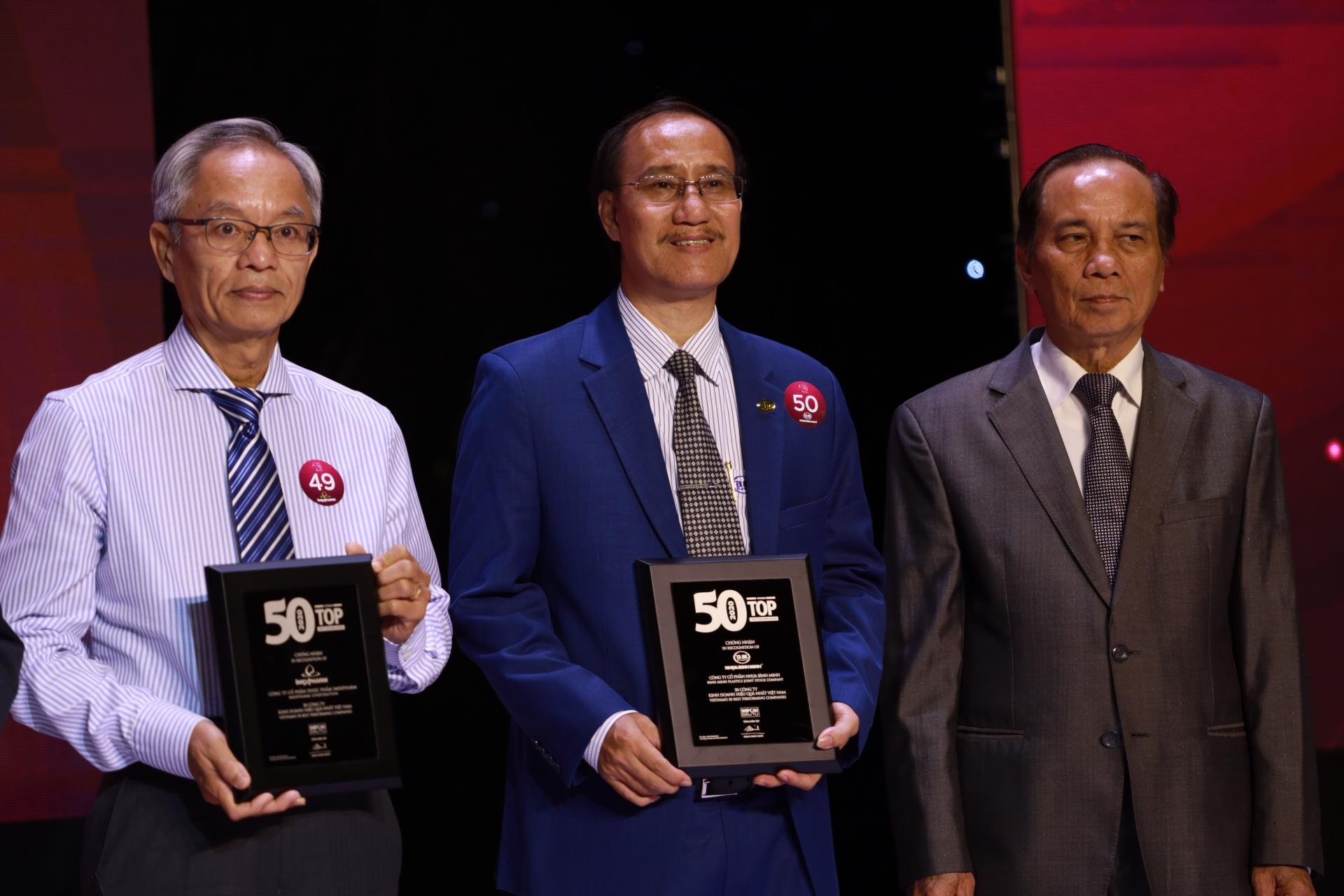 binh minh plastics ranked amongst vietnams 50 best performing companies 2019